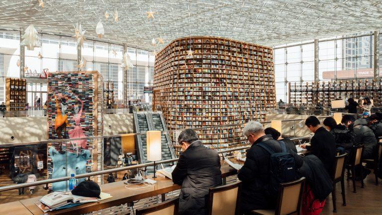 Korea bookstore